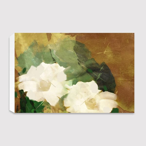 canvas-White-Flowers-landscape
