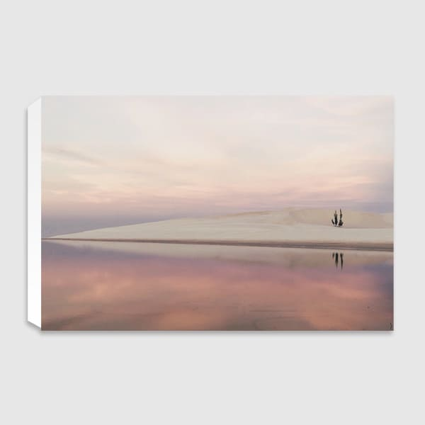 canvas-The-lonely-Island-landscape